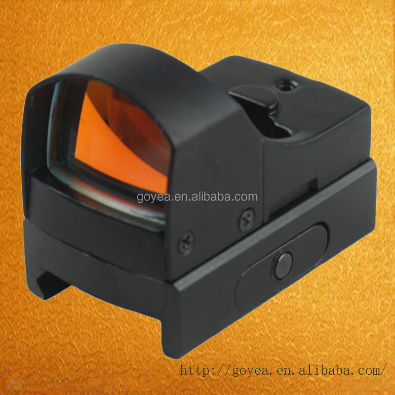 Mini Holographic Reflex Micro 3 MOA Green Red Dual Illuminated Dot Sight for Rifle and Pistol Hunting