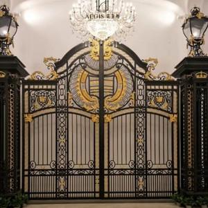 Iron Gate Design New Design Cast Iron Gate For Garden