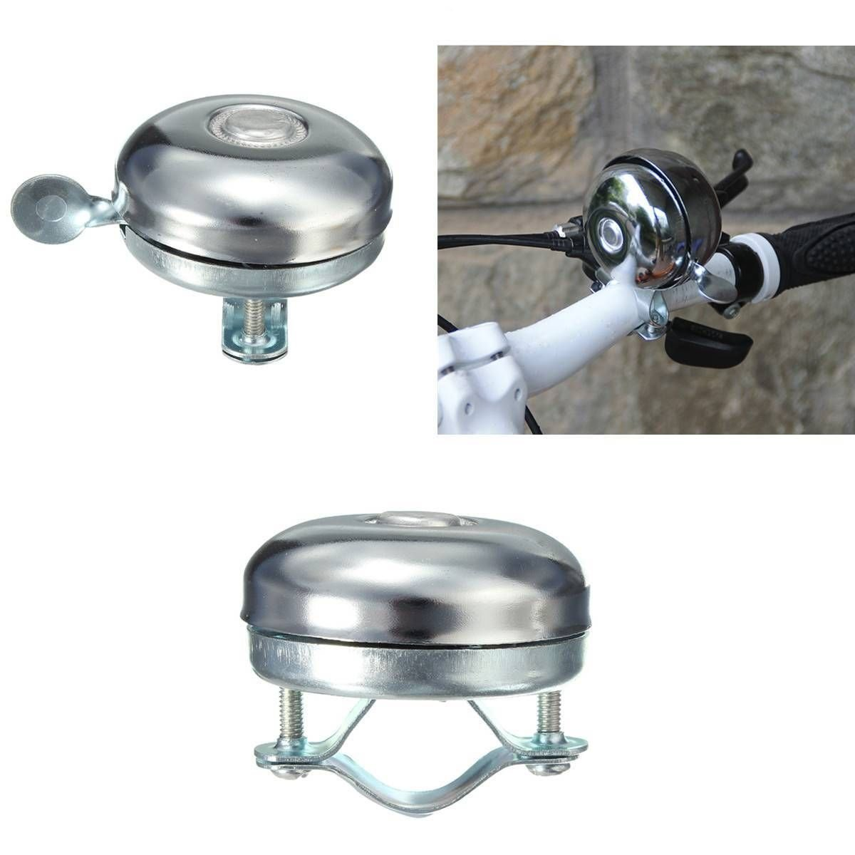 New Retro Metal Bike Ring Bicycle Cycling Handlebar Bell Sound Alarm Gold Horn▁