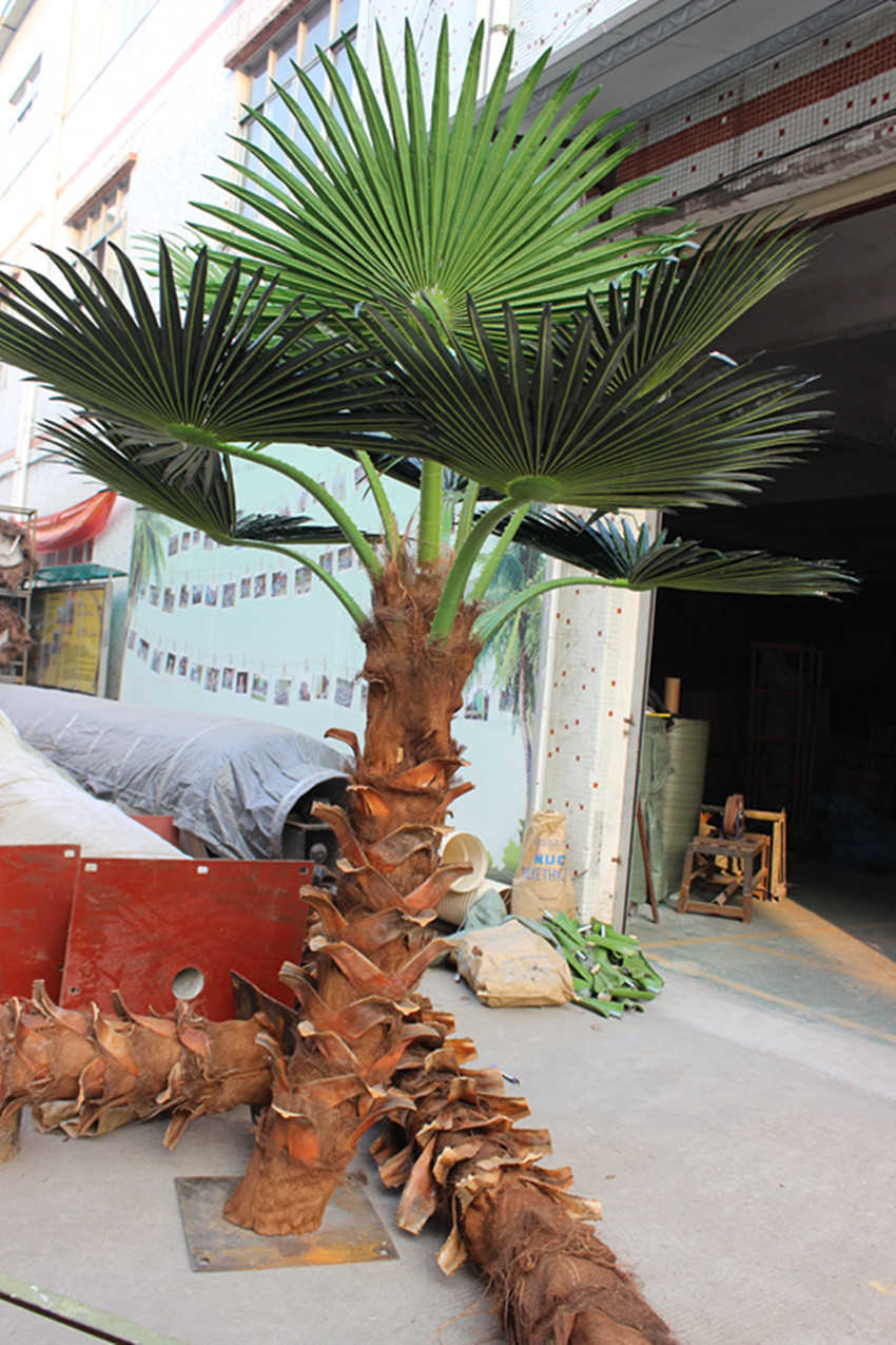 Hot sale artificial palm tree for indoor&outdoor decoration
