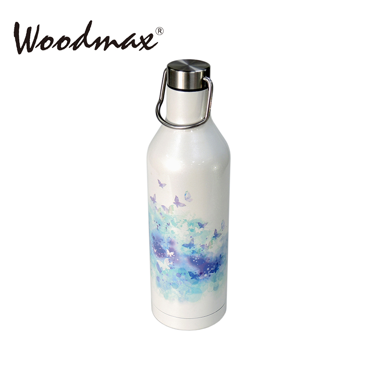 16oz Flask stainless steel Double Wall Drinking bottle with customize design logo