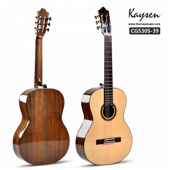 China cheap price custom best 39 inch classical guitar with nylon string