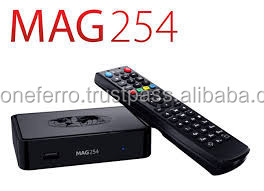 Iptv set-top box mag-254 mikro