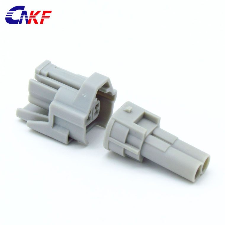 CNKF 5 Sets 2 pins Nippon denso Top Slot male and female car engine oil Fuel Injector Connector Includes Terminals And Seals