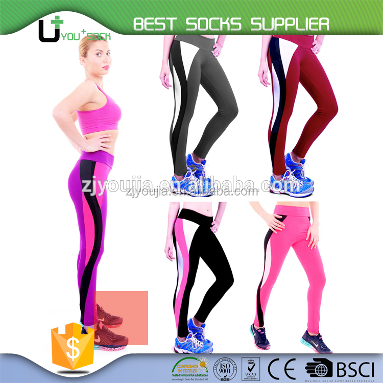 U+ C-1220372 nylon spandex sport leggings