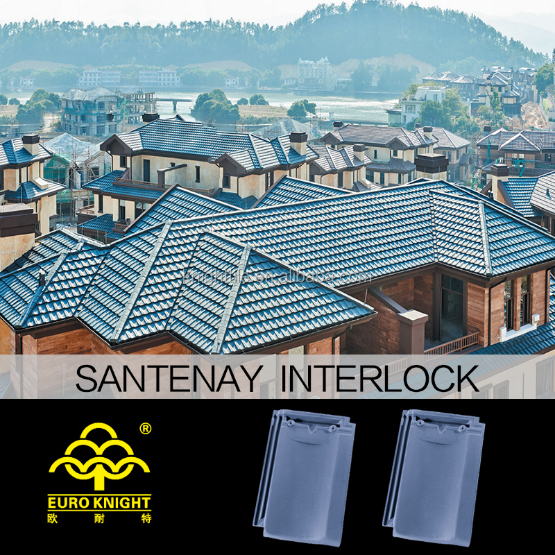 Real Estate Materials Importing Clay Ceramic Roof Tiles