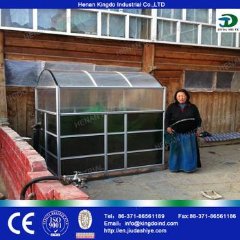 Small Biogas Plant Portable Biogas Plant Methane Gas Making - Buy Mini  Biogas Digester,Small Biogas Reactor,Small Biogas Plant Product on  Alibaba com