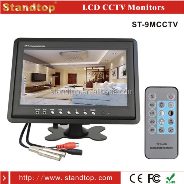 "9"" Colour CCTV LCD Monitor"
