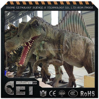 Cet-A-1368 dinosaur videos dinosaur models for museum exhibition available