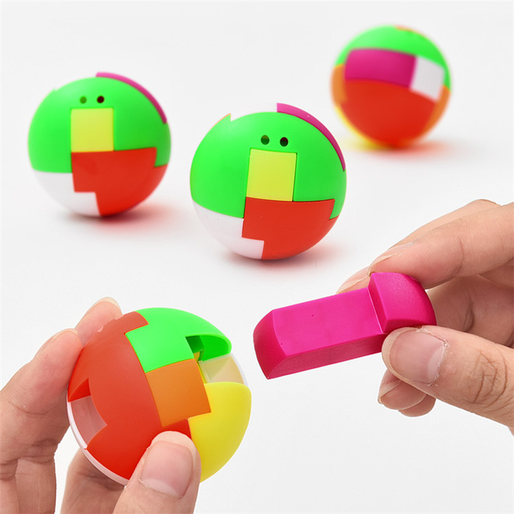 2019 New Arrived funny creativity assemble classics building blocks cube ball educational <strong>toy</strong> for kid