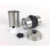 Stainless Steel Portable Travel Crocus Mill Bean Burr Manual Kit Mini Hand Coffee Grinder