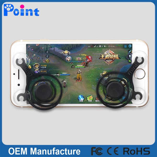 black wireless joystick for android fighting game joystick for pc with high sensitivity