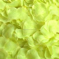 5CM Orange Gerbera Artificial Silk Fabric Ribbon Daisy Flower