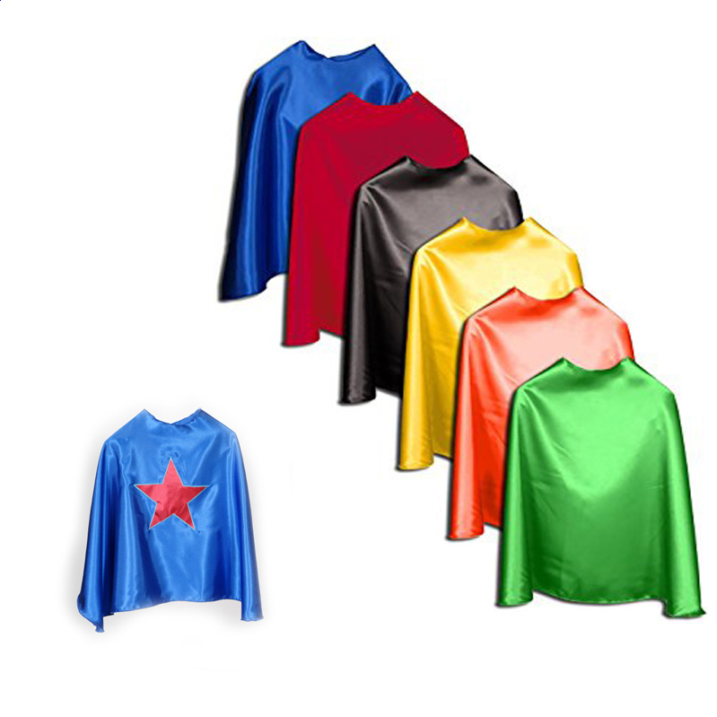 TV Cosplay parti costume super hero robe enfants enfants super-héros cape