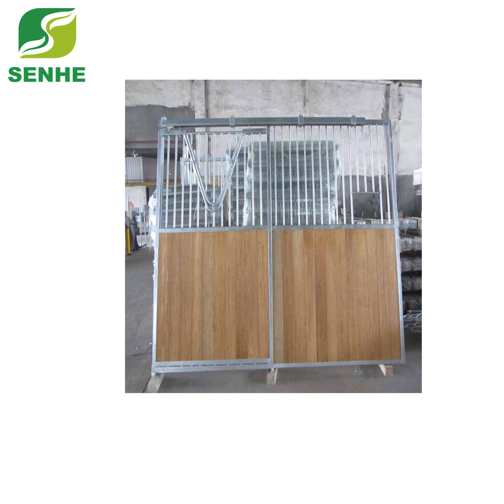 Antic Type Carbonized Interlocking bamboo horse stable