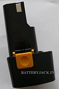 9.6V 3.0Ah Battery for Milwaukee 0210-1 Replaces 48-11-0080 NiMH 2 YEAR WARRANTY