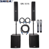 "SHIER dj tower speaker pro audio powered 8"" mini line array system outdoor speakers pa systems"