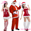 Latest Design Red Fancy Dress Santa Claus Costume