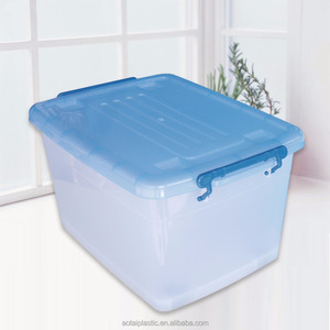 Competitive Price Daily Large plastic boxes storage transparent