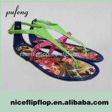 Factory direct sale high quality cheap pvc fashion jelly shoes