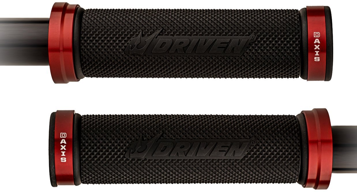 Driven Racing DXG-RD Red D-Axis Grips
