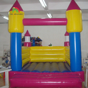 Square Small Inflatable Toys Jumping House Rocket Castles Bounce House Bouncer Castle
