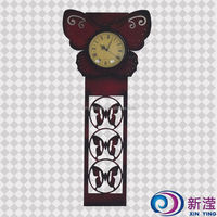 Excellent Quality ultra quiet wall hanging digital wall clock large