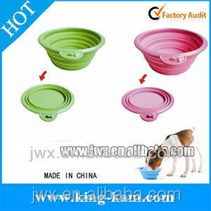 Outdoor Products Collapsible Silicone Bowl And Cup Factory Best Ing Foldable Collasible Dog Travel