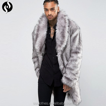 Großhandel Neue Mode Top Marke Lange Nerz Grau Männer Pelz Mantel Für Winter Buy Männer Pelz Mantel,Lange Männer Pelz Mantel,Männer Pelz Mantel Für