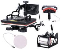 combo t shirt heat press machine t shirt transfer machine t shirt printing machine