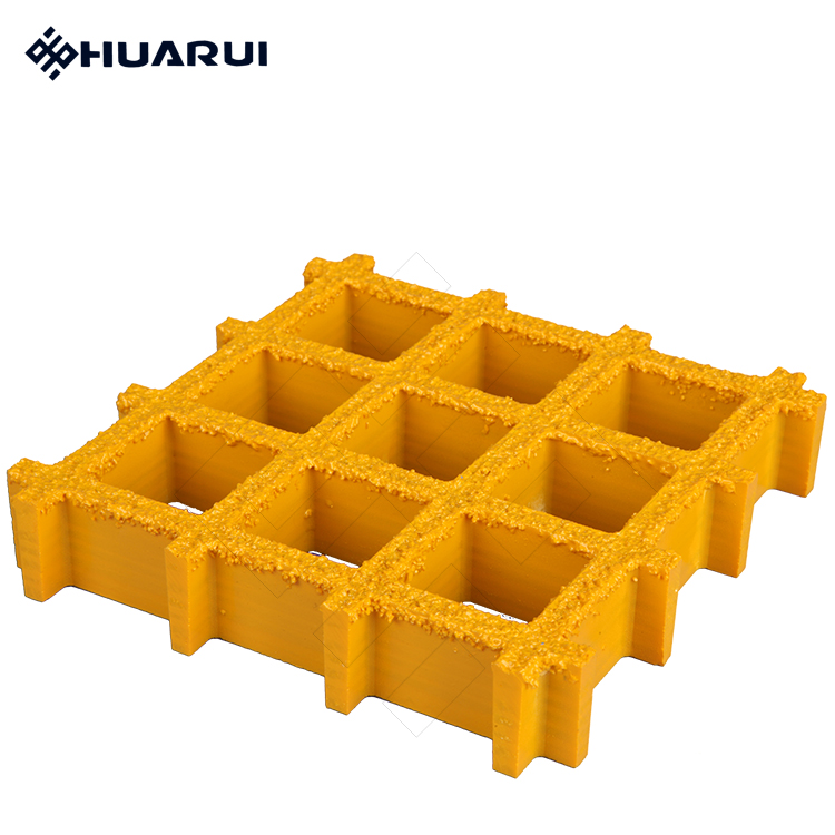fiberglass FRP/GRP SMC indutrial molded floor walkway grating