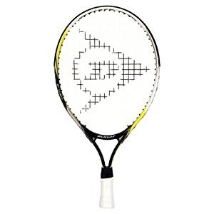 "Dunlop Sports Junior M 5.0 Tennis Racquet, 19"" - 4"" Grip - Green/Black/White"