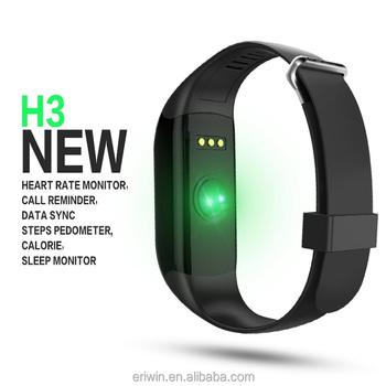 Newest Heart Rate Monitor Waterproof Ip67 Bluetooth Smart Bracelet Manual  H3 Smart Band - Buy Bluetooth Smart Bracelet,Smart Bracelet,H3 Smart Band