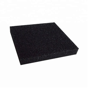 25ppi Black Reticulated Filter Foam