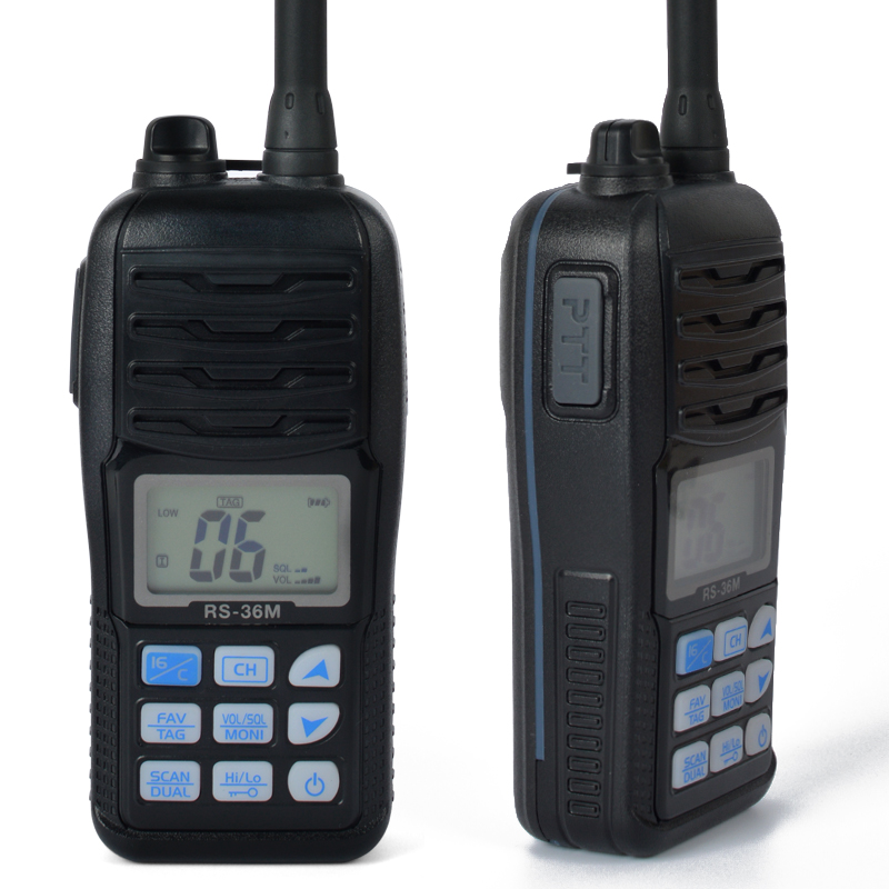 Handheld Auto Scan Waterproof Marine Radio VHF TC-36M