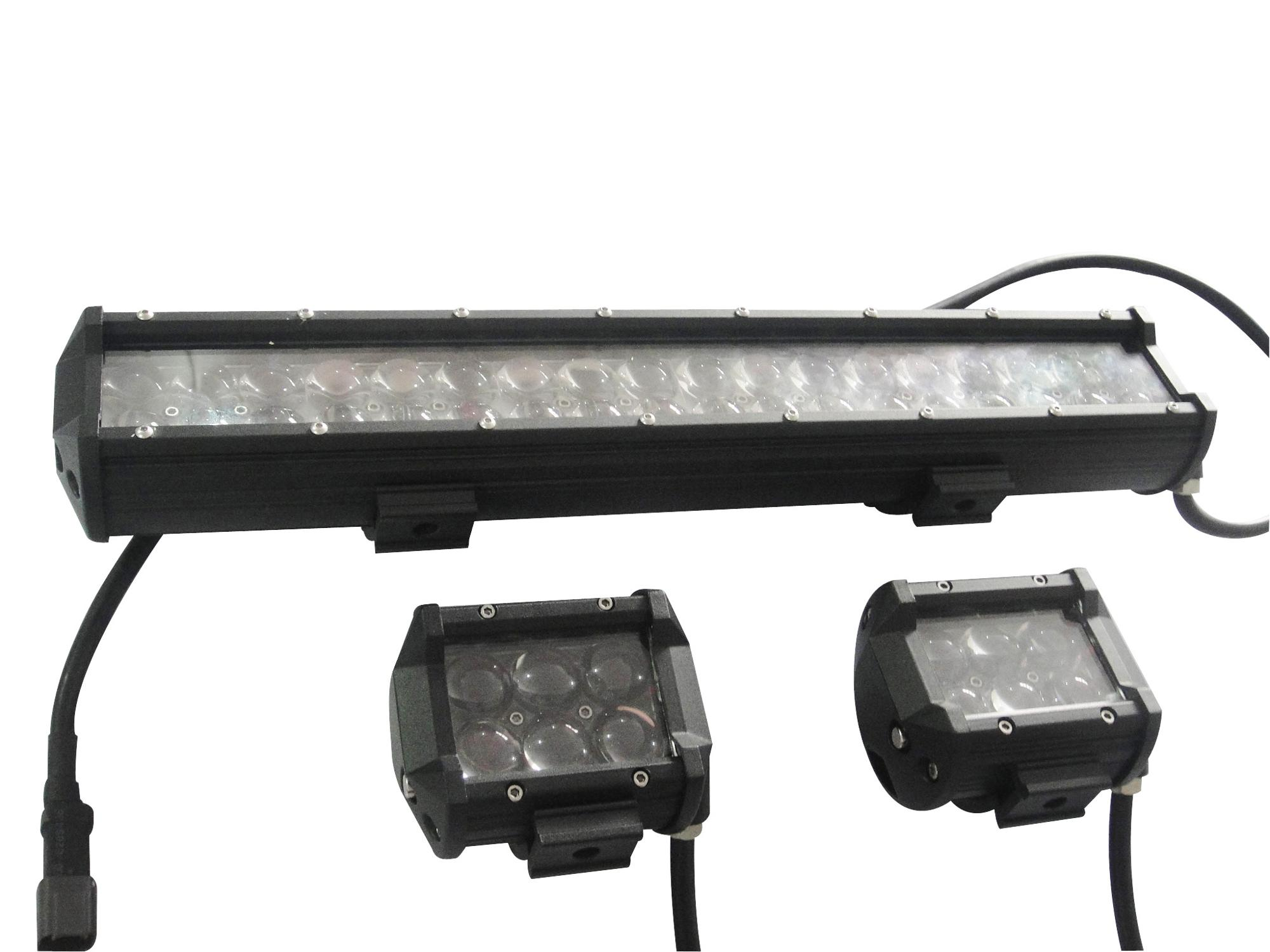 Waterproof IP67 2 rows truck light bars huiguang ce rohs approved off road light bar for car