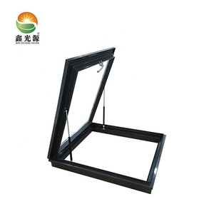 Seamless welding aluminium skylight frame window