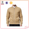 Hot Selling New Design Popular High Quality Men Jacket Solid Coat Custom Logo Zipper Pockets Outerwear