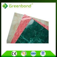 Greenbond polyurethane insulated metal wall panel aluminum composite panel