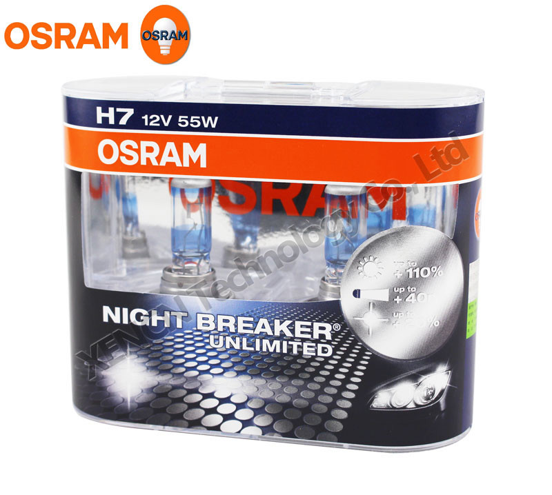 osram germany authorized night breaker unlimited 64210nbu px26d car bulb halogen h7 buy car. Black Bedroom Furniture Sets. Home Design Ideas