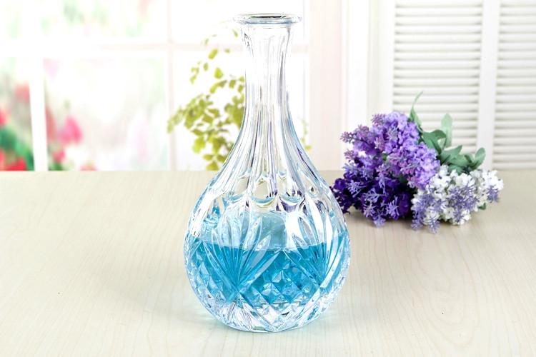 Moderne handgeblazen glazen wijnfles lamp cover voor bar thuis