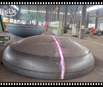 ASME U High Quality Pressure Vessel Elliptical Dish Head with Different Material