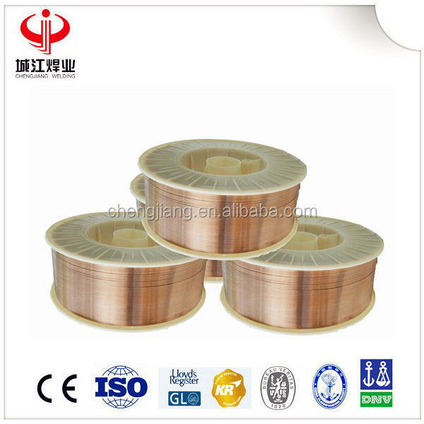 DIN SG2 Copper Coated Stainless Steel Material Lead Solder Wire