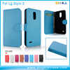 Classic Litchi Pattern Leather Cell Phone Case Flip Cover For LG Stylo 3