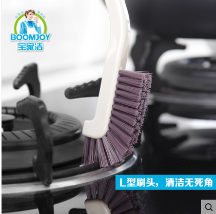 Boomjoy groove brush JY7052 dead angle esay clean Kitchen sink clean brush Microwave oven clean brush