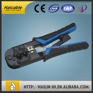 TL-N5684R Multi-function Ratchet Handle Rj45 Connector Network Crimping Tool with cutting and stripping