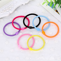 PromotionItem Girl High Elastic Hair Band Children Hair Rope Gift Resin Bead Connected Women Hair Ring