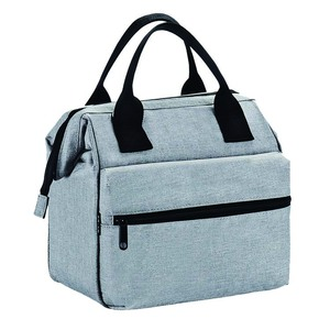 custom high quality multi-function cooler insulate travel lunch tote bag