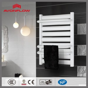 AVONFLOW White Clothes Drying Racks Vertical Electric Heaters Wall Mounted