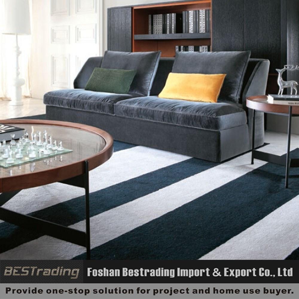 Moderne woonkamer meubels 3 zits bank zonder armen woonkamer sofa ...